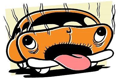 Hőguta a kocsiban: íme az óvintézkedések