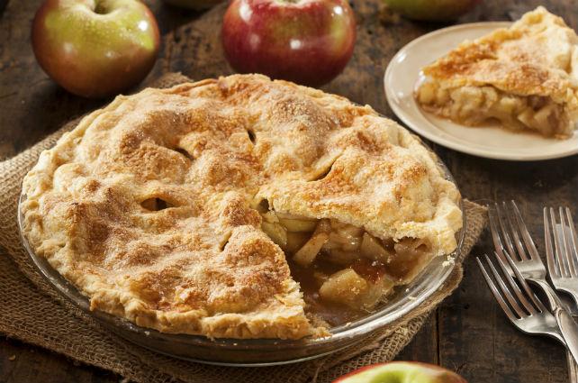 Így készül a legfinomabb amerikai almás pite