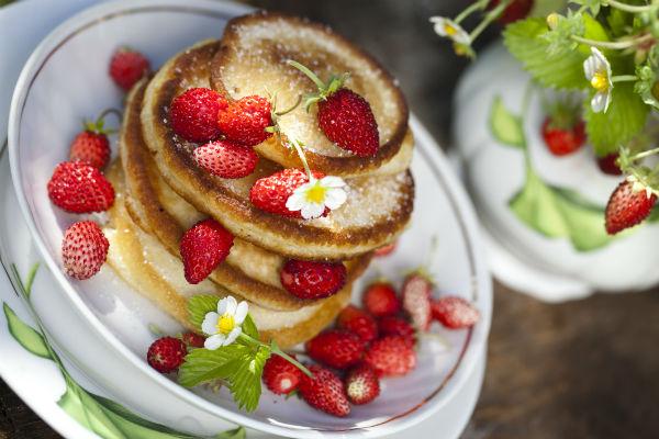 Mennyei epres amerikai palacsinta: minden eddigi változatot felülmúl
