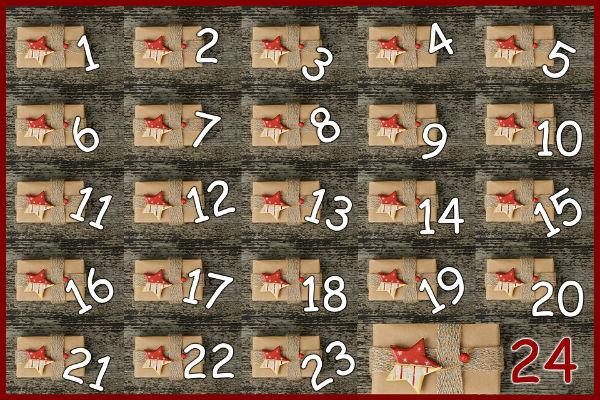 Variációk adventi naptárra (sablonokkal) – remek móka az egész családnak