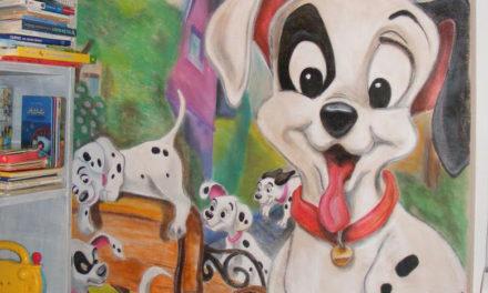 Mesés gyerekszobák: valódi álomvilág falfestéssel