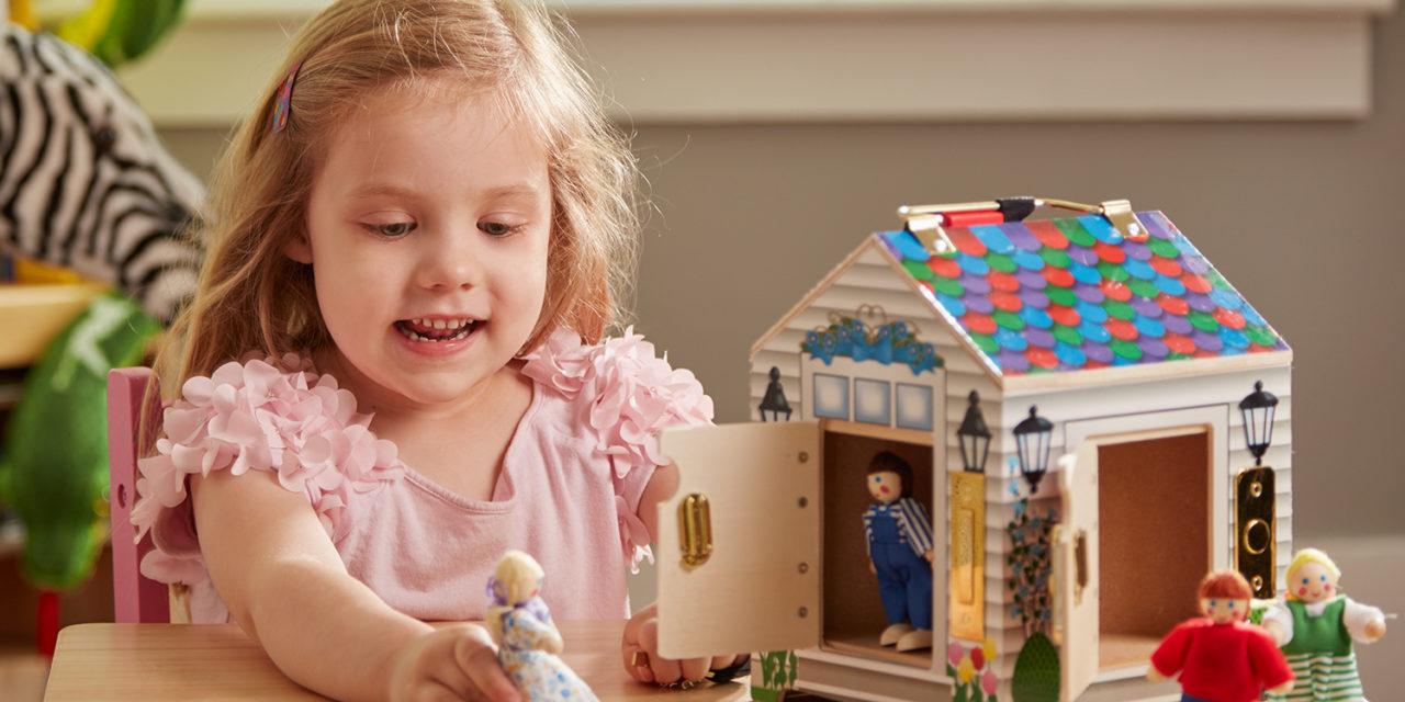 Fejlesztő, minőségi játékok, amelyek sokáig lekötik a kicsiket: ez Melissa és Doug világa!