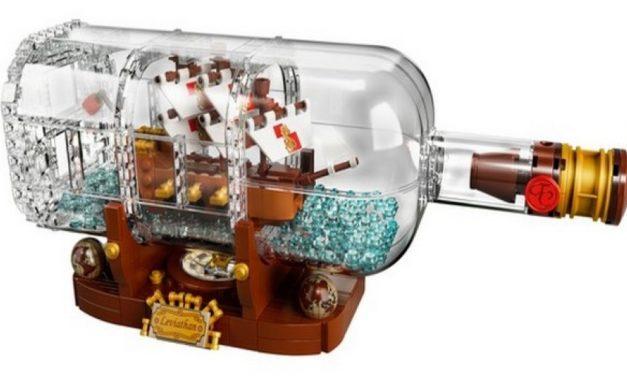 Már előrendelhető a legújabb LEGO: a hajó a palackban gyermekednek is tetszeni fog