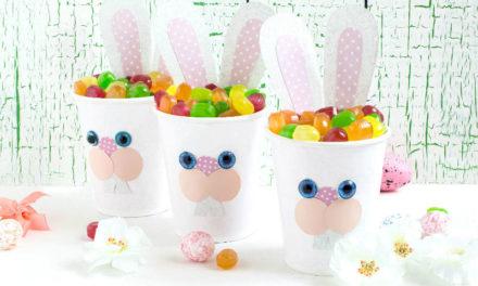 10 perces vidám húsvéti nyuszis dísz, amit könnyedén elkészíthetsz a gyerekkel is