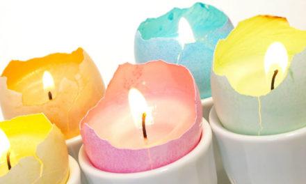 Ne dobd ki a törött tojáshéjat: csodaszép húsvéti gyertyát készíthetsz belőle