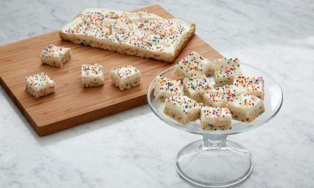 Könnyű cukormázas kockák  Anna Olson receptje szerint
