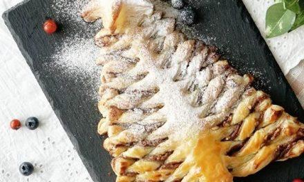 Csodaszép karácsonyfa süti leveles tésztából: nagyon egyszerű elkészíteni
