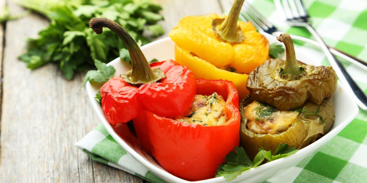 Finom, színpompás és egészséges: bulgurral töltött paprika életmódváltóknak is