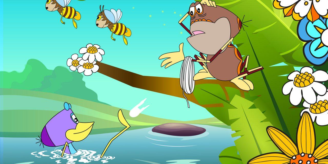 A Víz Világnapján premier előtt vetítik a digitálisan felújított Vízipók-csodapókot!