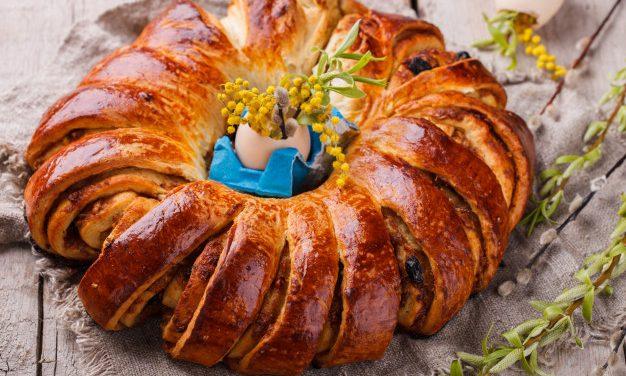 Húsvéti kalácskoszorú édesen, sósan: az ünnepi asztal dísze lesz
