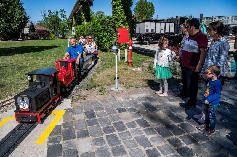 Húsvéti szezonnyitás a  Magyar Vasúttörténeti Parkban: még hétfőn is lesznek izgalmas programok