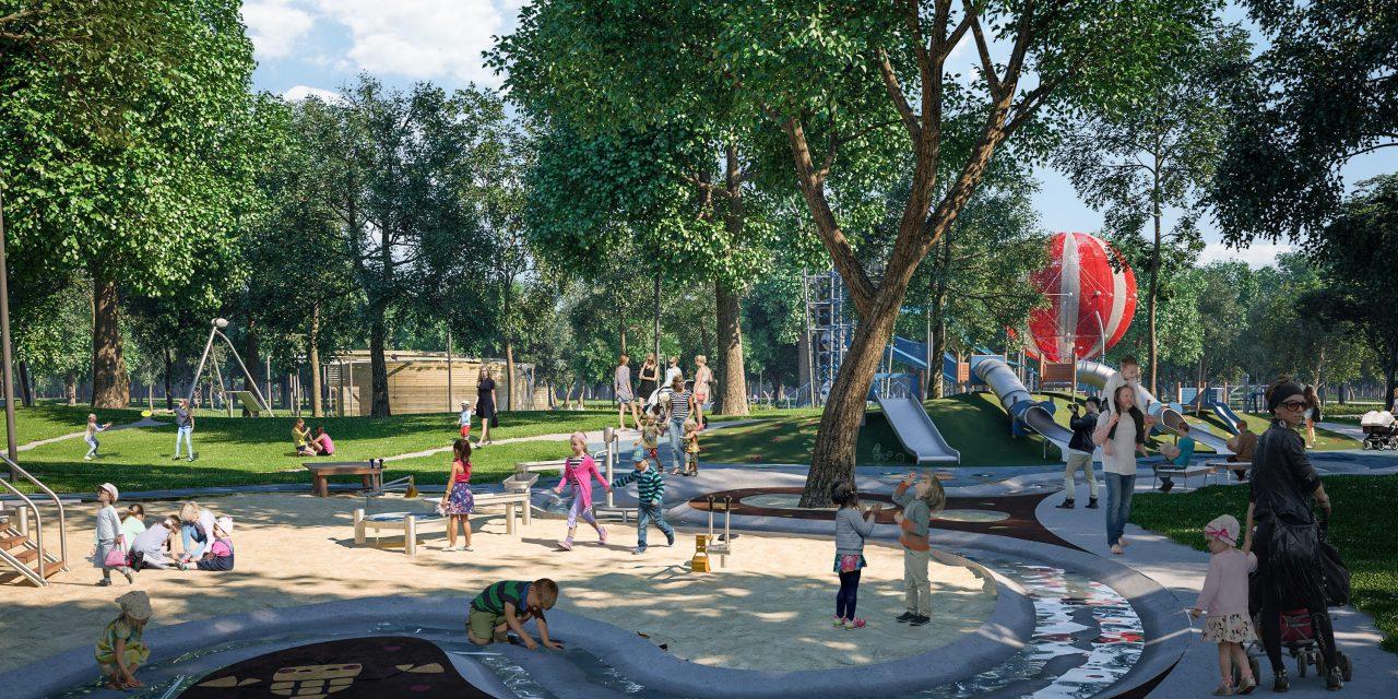 Megkezdődött a játékelemek telepítése az új Nagyjátszótérre a Városligetben: mesés lesz