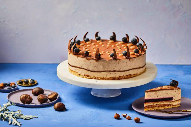 Kicsi Gesztenye cukormentes torta