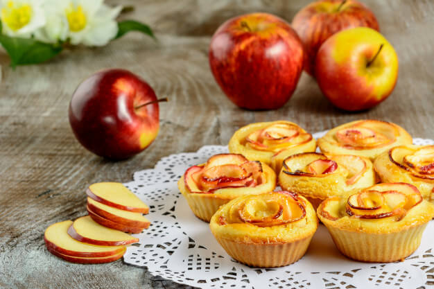 almarózsa-muffin
