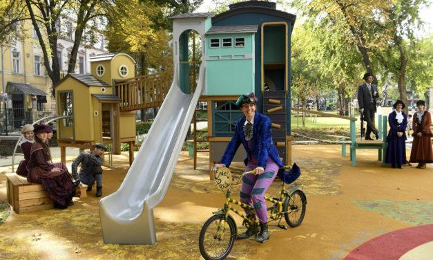 Újabb csodás tematikus játszótér Budapest belvárosában: A Pál utcai fiúk ihlette