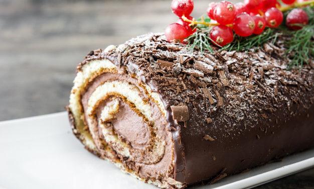 Mennyei csokis-narancsos fatörzs: a franciák kedvenc karácsonyi sütije