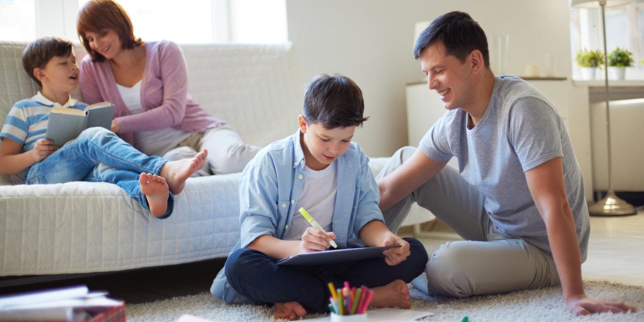 Békés családi együttlét – A bezártság a gyerekeket és a felnőtteket is próbára teszi