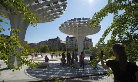 Már látogatható a Széllkapu park – Új városi zöldfelület a Millenáris mellett