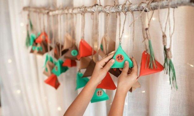 5 egyszerű, bájos adventi naptár saját kezűleg: a gyerekek is segíthetnek elkészíteni
