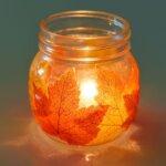 Így készíts egyszerű, csodaszép őszi lámpást akár Márton-napra is