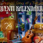 Online adventi kalendáriummal készül Farkasházi Réka  24 napig zene, mese, vers – virtuális élmény formájában