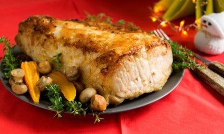 Egészben sült fűszeres sertéskaraj: szerencsehozó finomság újévre