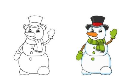 Letölthető hóemberes foglalkoztatók, színezők, különbségkereső, vonalvezető: jön a hóemberek világnapja