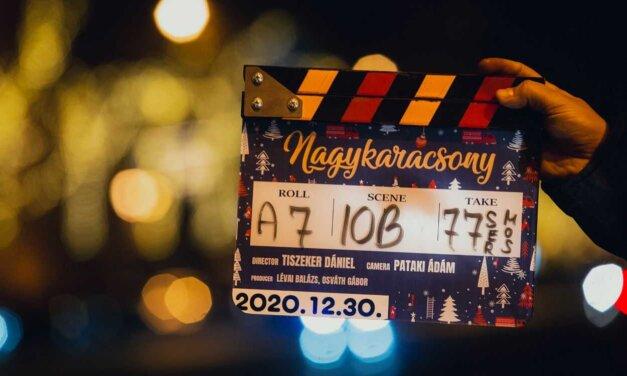 Elindult a Nagykarácsony című film forgatása: tele van magyar sztárokkal