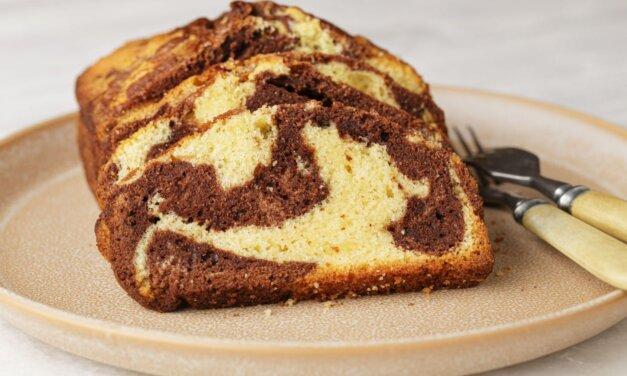 Pihe-puha márványos kevert süti: bögrével is kimérheted a hozzávalókat