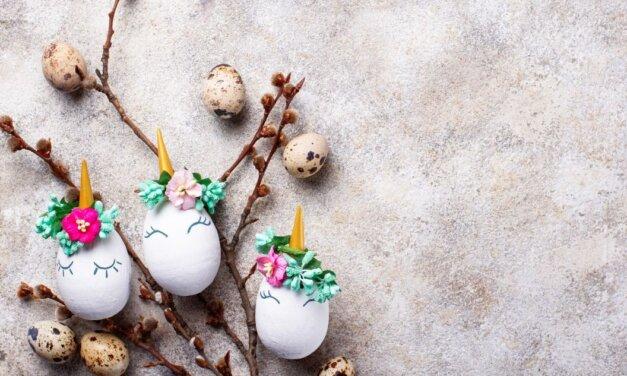 Gyönyörű unikornisos húsvéti tojások egyszerűen: az idei ünnep kedvence lesz