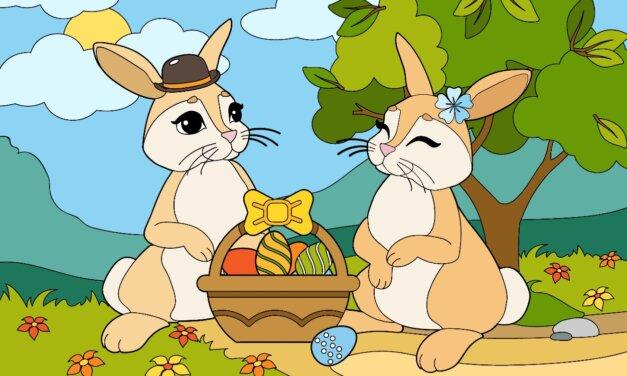 Húsvéti színezők, feladatlapok, játékok: akár nagyban is kinyomtathatod