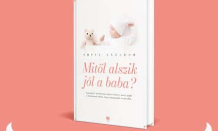 Mitől alszik jól a baba? – Ebből a könyvből megtudhatod
