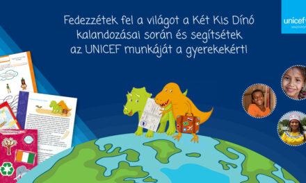Két kis dínó a világ körül: az UNICEF adománygyűjtő programjában te is segíthetsz