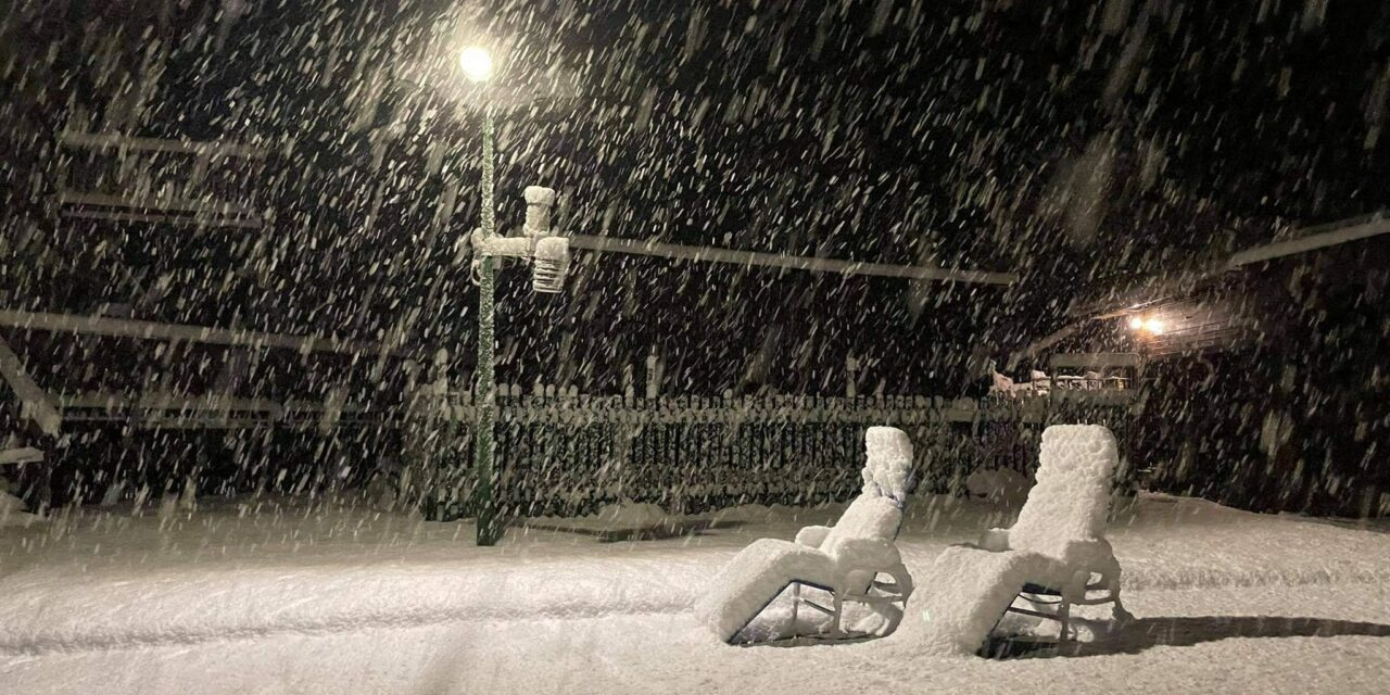 Októberi havazás: a Bükkben összefüggő a hóréteg